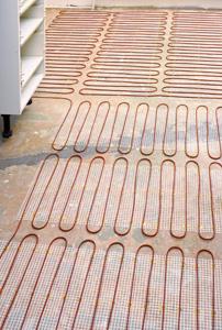 lattialämmitys termostaatin säätö